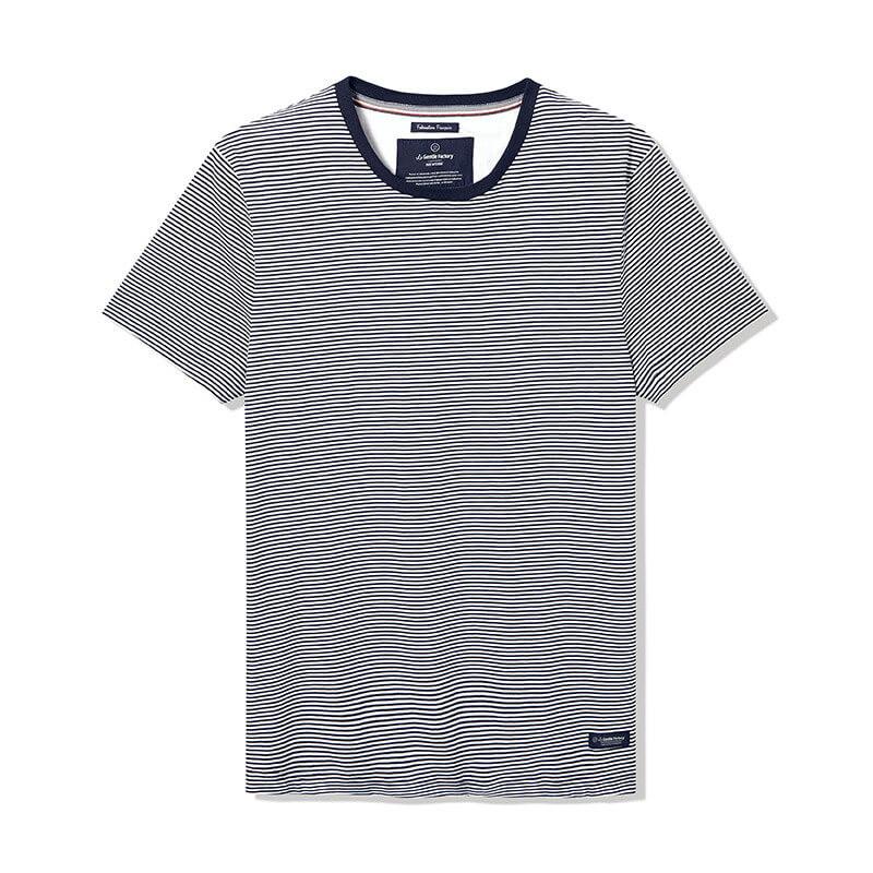 Tee-shirt Tomy fines rayures