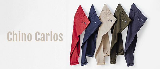 Chino Carlos sergé made in france