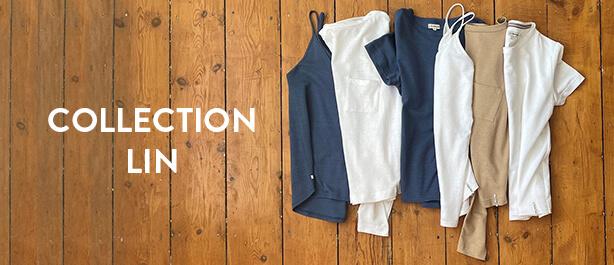Collection 100% lin et coton bio - La Gentle Factory