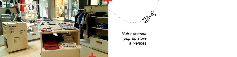 Notre premier pop-up store à Rennes – La Gentle Factory