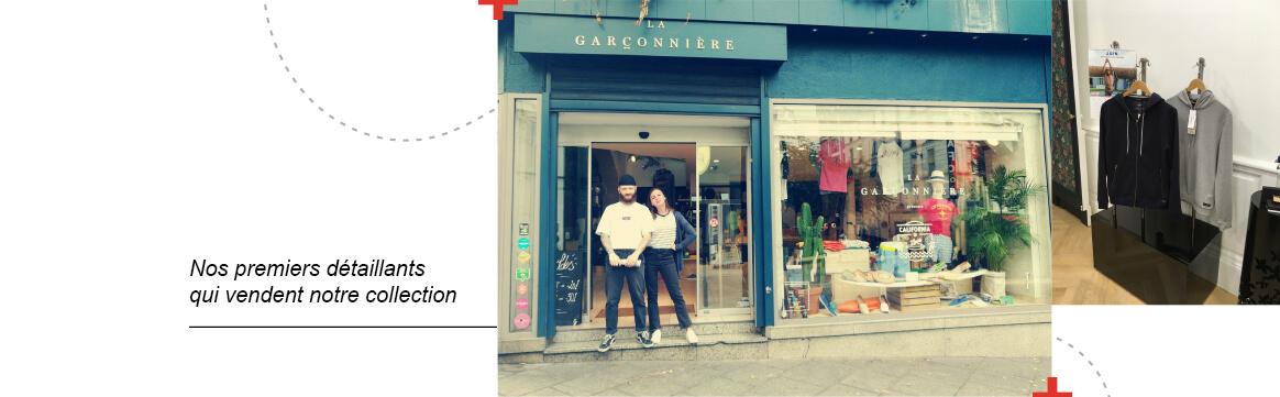 Nos premiers détaillants – La Gentle Factory