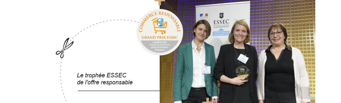 Le Trophée ESSEC de l'offre responsable – La Gentle Factory