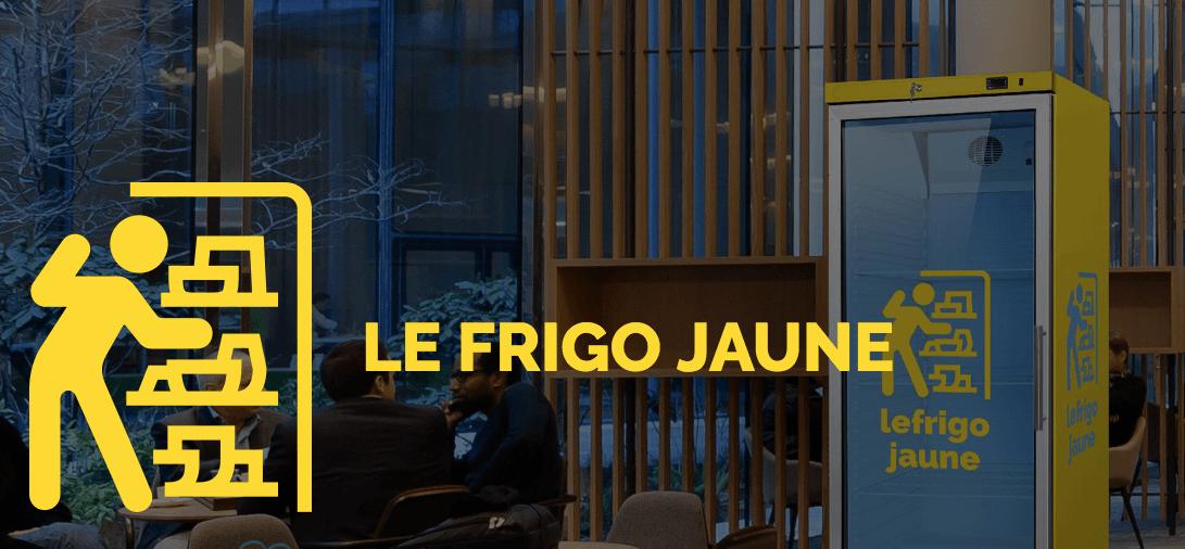 Un frigo jaune dans votre entreprise !