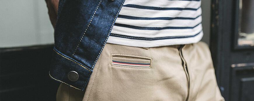 Le chino, le pantalon par excellence