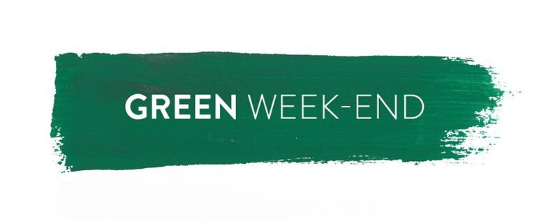 Green week-end 2018
