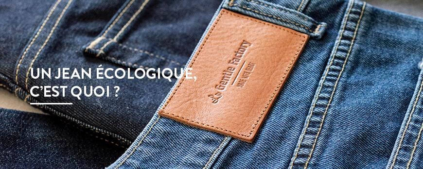 Un jean écologique, c'est quoi ?