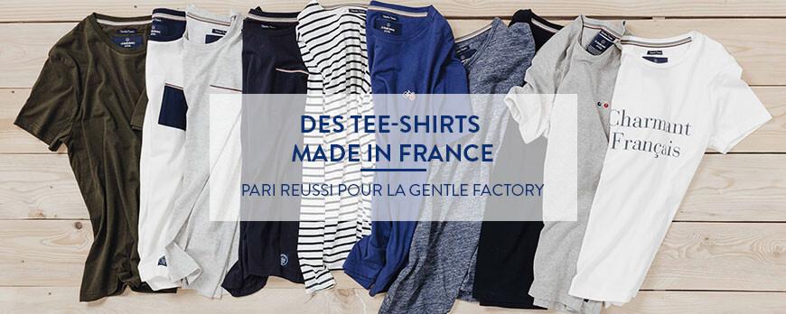 Des tee-shirts made in France, pari réussi pour La Gentle Factory