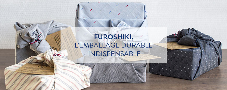 Furoshiki, l'emballage durable indispensable