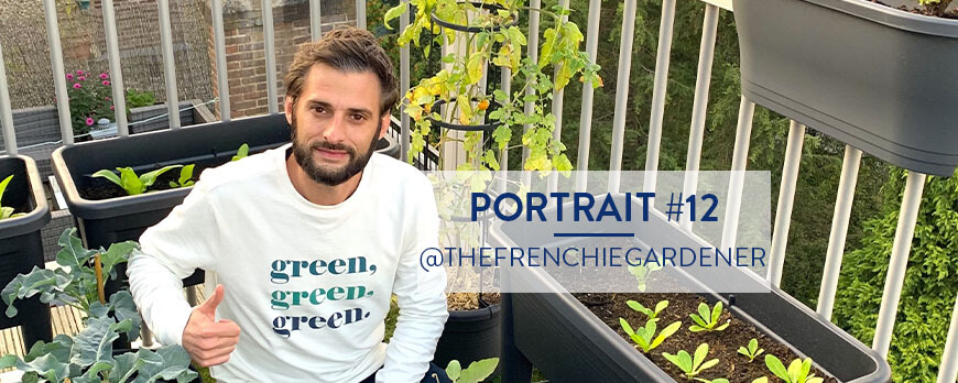 Portrait #12 – L'extraordinaire Patrick – @thefrenchiegardener