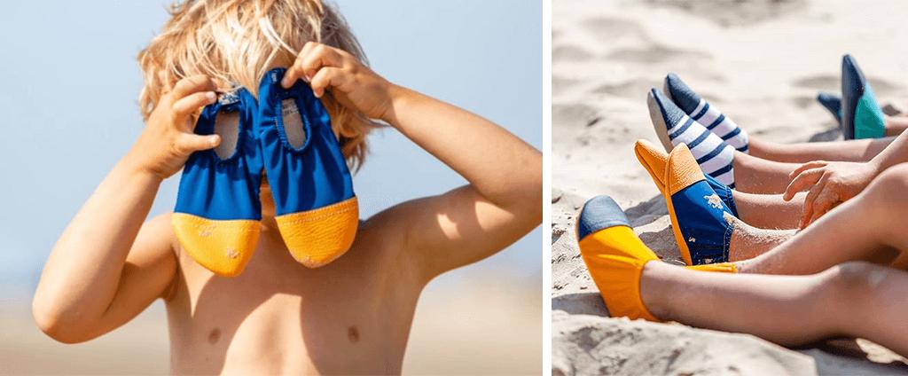 Chaussons pour enfants made in France d'extérieur