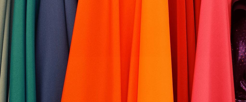chutes de tissu