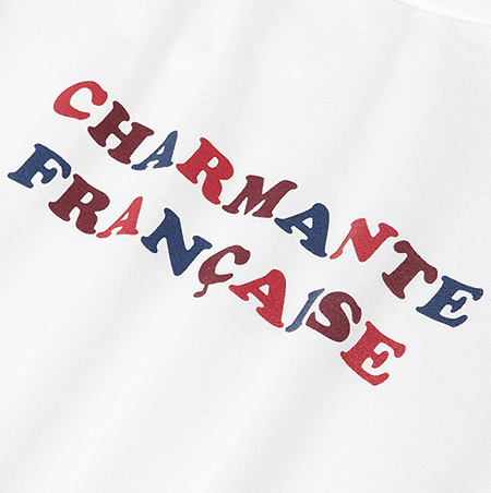 t-shirt made in France charmante française