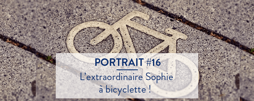 Les joies du vélo avec Sophie