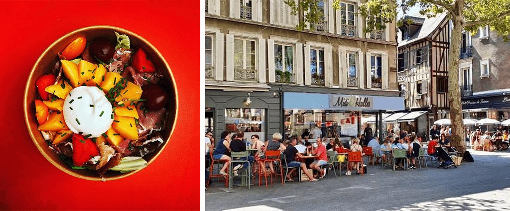 Restaurant Troyes Midi O halles