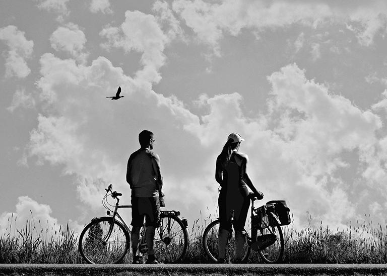 liberté à vélo