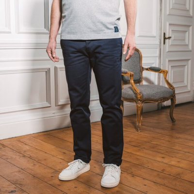 Chino coton biologique made in France