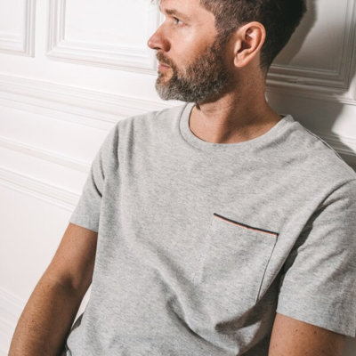 Tee-shirt fibres recyclées made in France