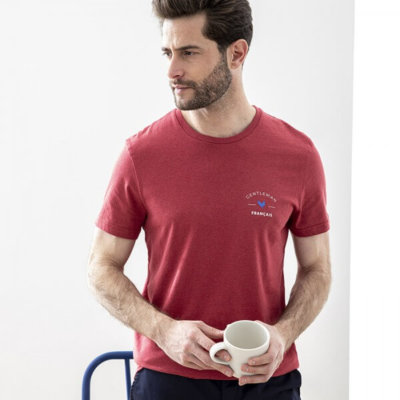Tee-shirt coton biologique made in France