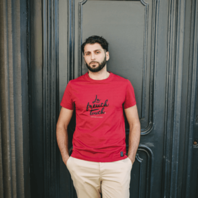 Tee-shirt 100% coton made in France