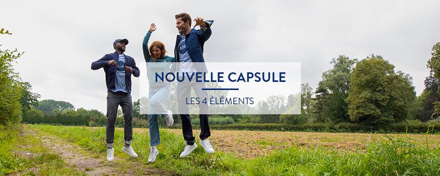 Nouvelle capsule – Les Quatre éléments